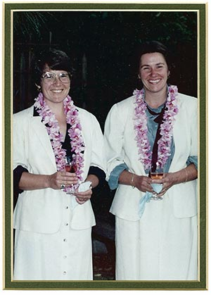First Wedding - Lanita and Suzanne