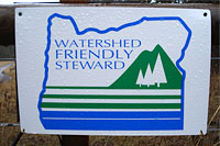 Watershed Friendly Steward